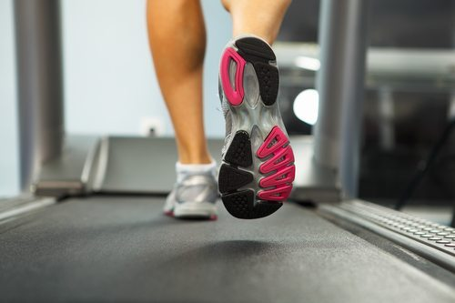 Treadmill Running by Fitness Gallery