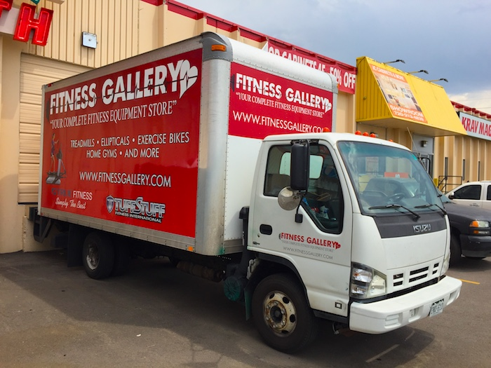 Fitness Gallery Delivery Service