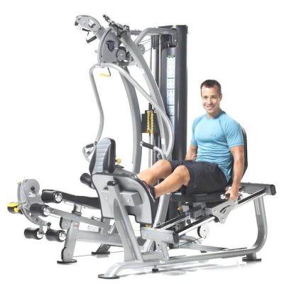 TuffStuff SXT-550 leg press attachment at Fitness Gallery