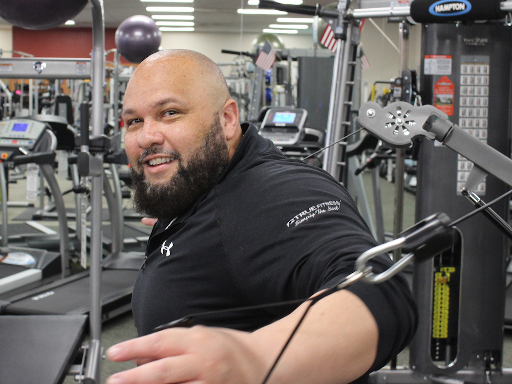 Carlos Aviles at Fitness Gallery