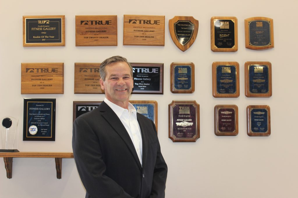 Donnie Salum, Founder and President, Fitness Gallery