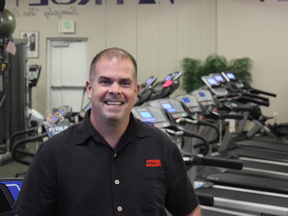 Scott Compton, Commercial Sales at Fitness Gallery