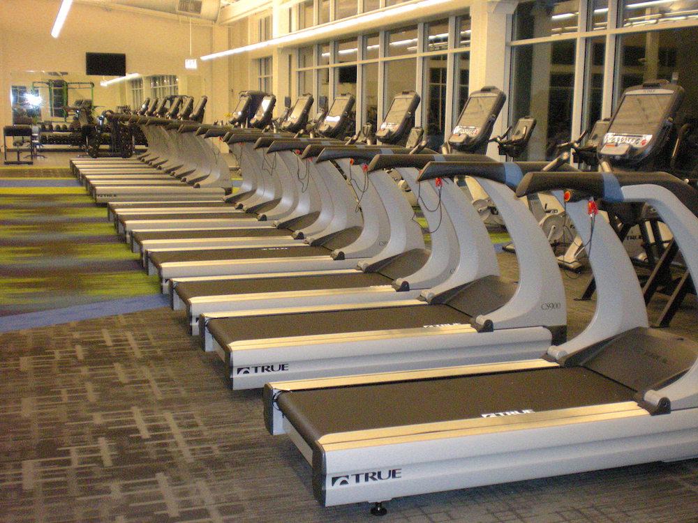 True Fitness Commercial Installation