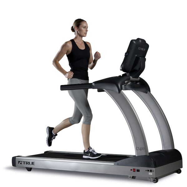 TRUE Fitness CS400 Treadmill available at Fitness Gallery
