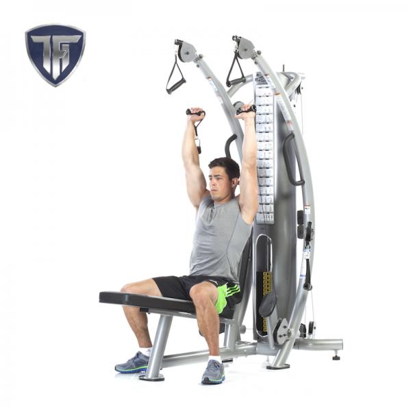 TuffStuff SPT-7 Six Pak Trainer at Fitness Gallery