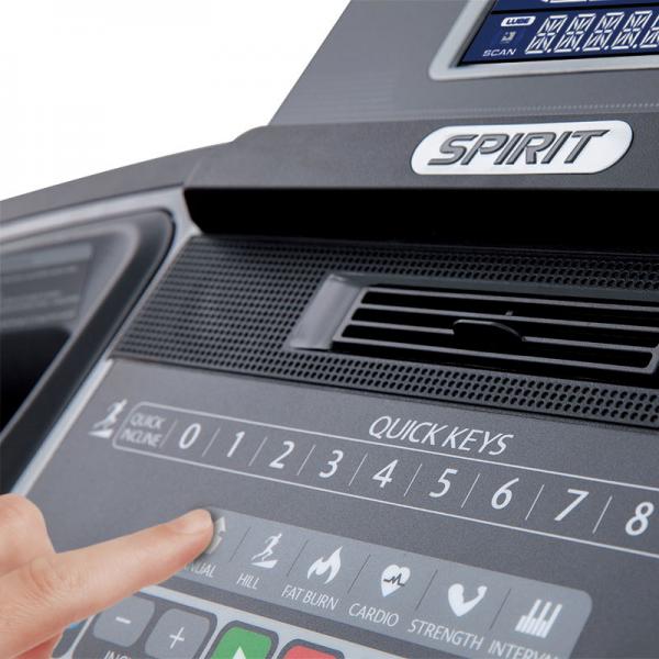 Spirit XT185 Treadmill available at Fitness Gallery