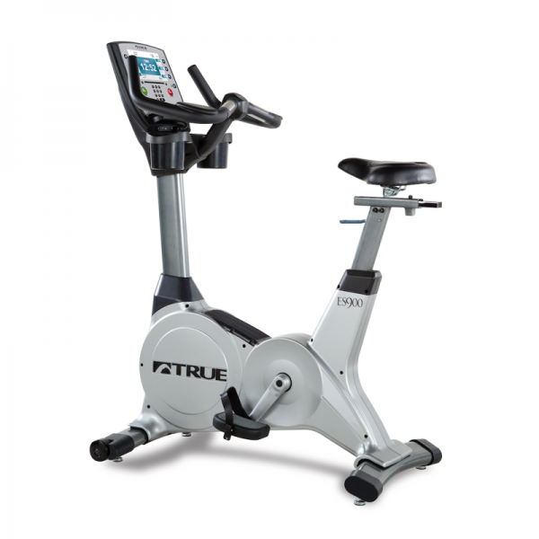 TRUE Fitness ES900U Upright Bike available at Fitness Gallery