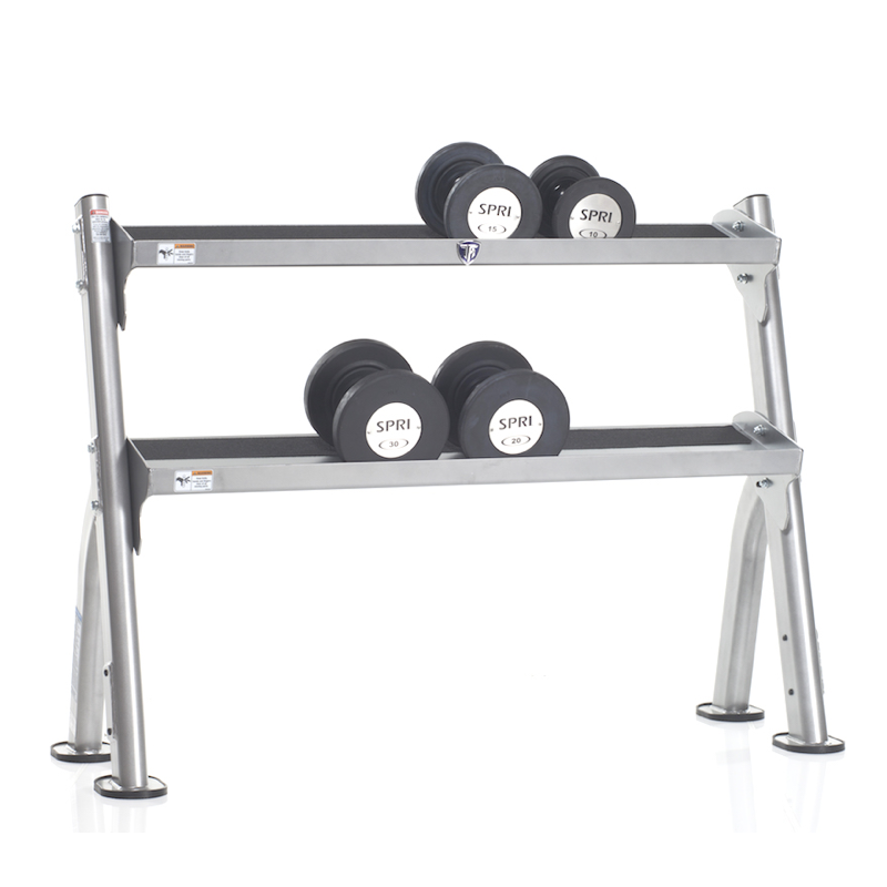Tuffstuff Evolution 2 Tier Dumbbell Rack Fitness Gallery