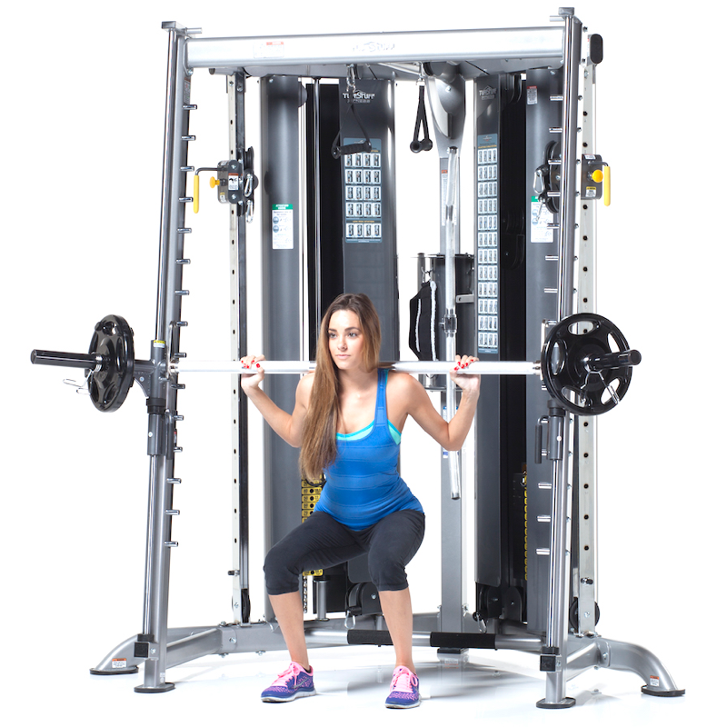 Tuffstuff Cxt 225 Multi Functional Trainer Smith Press
