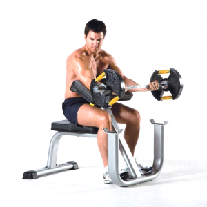 TuffStuff Seated Arm Curl Available at Fitness Gallery