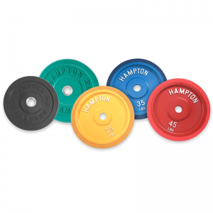 Hampton Olympic Bumper Plates at Fitness Gallery