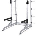 TRUE Paramount XFW-8100 Half Rack with Plate Holders at Fitness Gallery