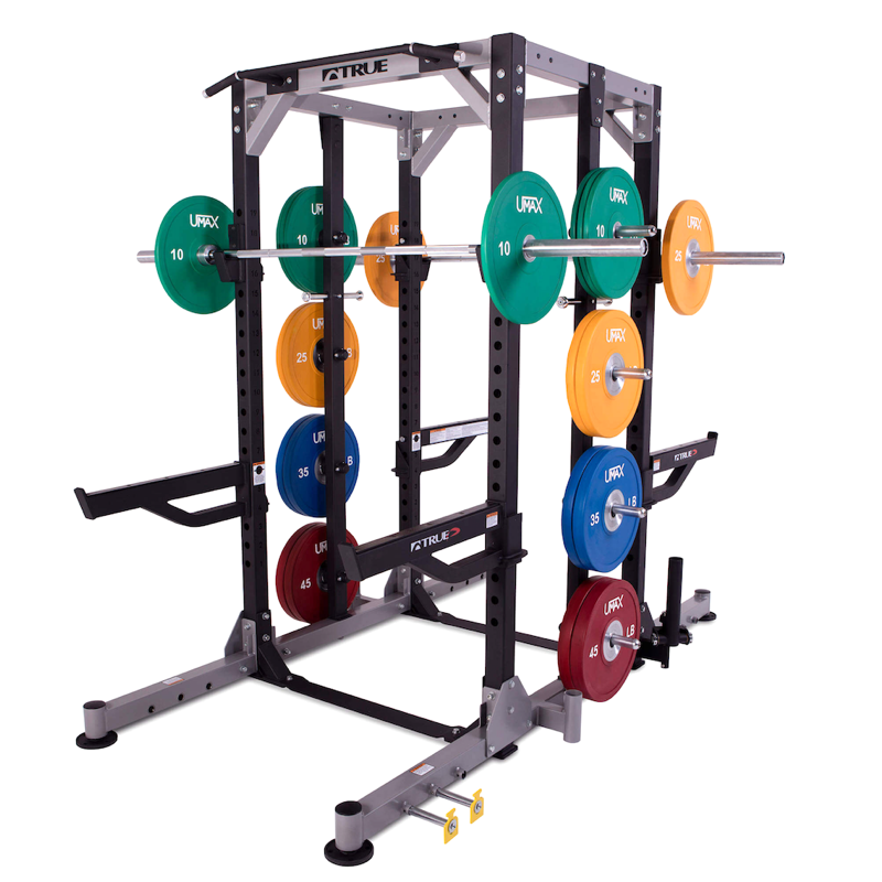 True paramount xfw dual sided half rack fitness gallery