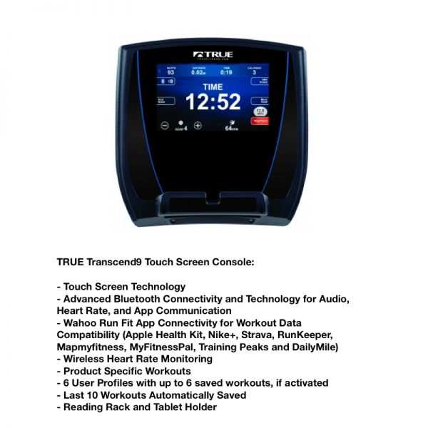 TRUE Transcend 9 Touchscreen Console