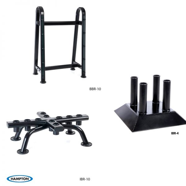 Hampton Fitness Bar Racks available at Fitness Gallery