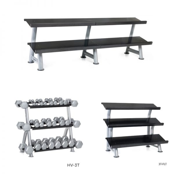 Hampton Fitness Flat Racks at Fitness Gallery