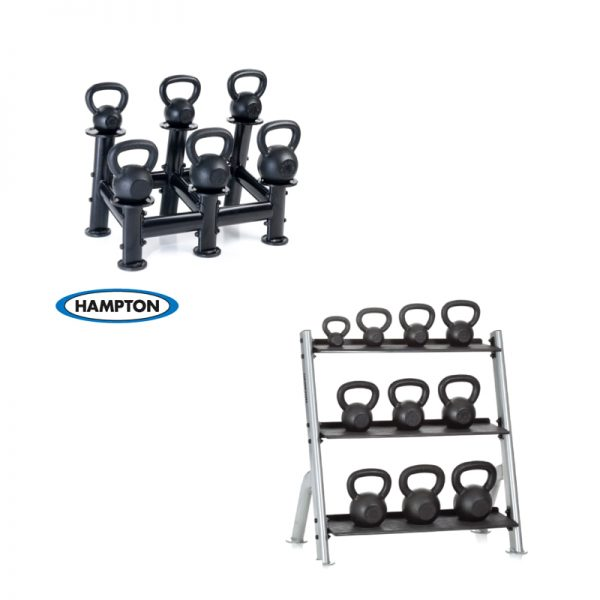 Hampton Fitness Kettle Bell Racks at Fitness Gallery