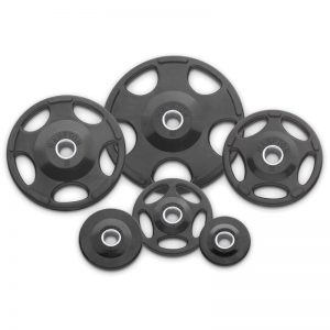 Hampton Fitness Urethane Olympic Grip Plates at Fitness Gallery