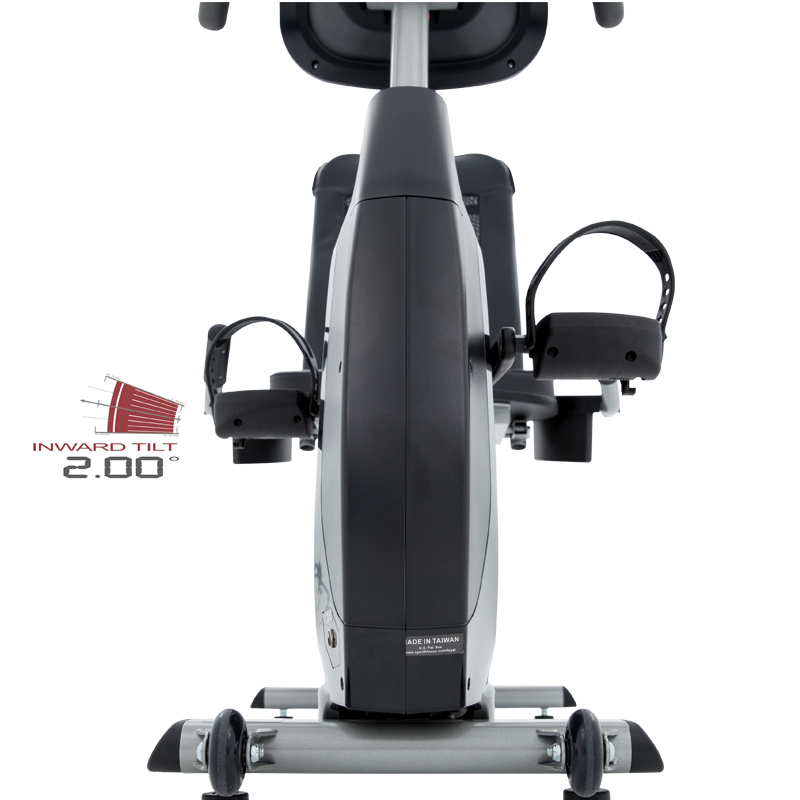 2083c7a73b8 Spirit XBR25 Recumbent Bike Pedals at Fitness Gallery