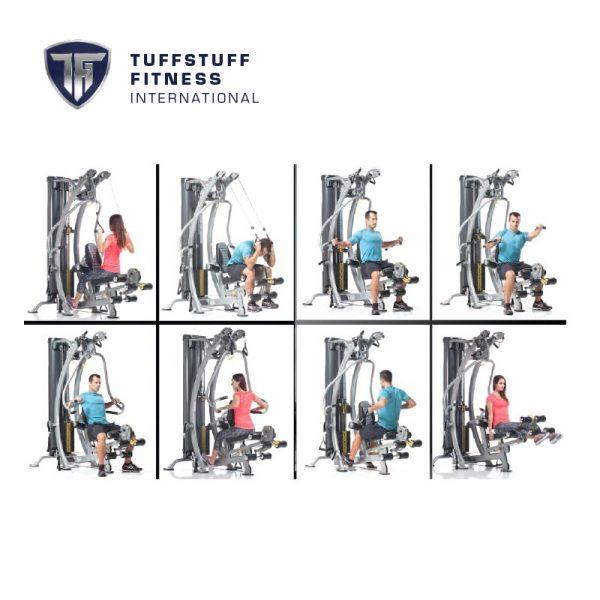 TuffStuff SXT 550 Workouts