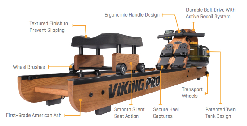 Viking Pro Rower - Key Features