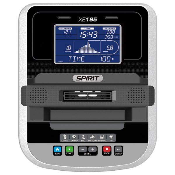 Spirit Fitness XE195 Elliptical Console