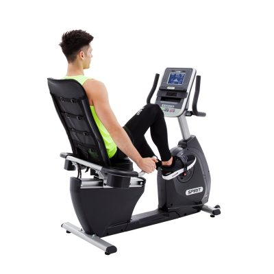 Spirit XBR25 Recumbent Bike at Fitness Gallery
