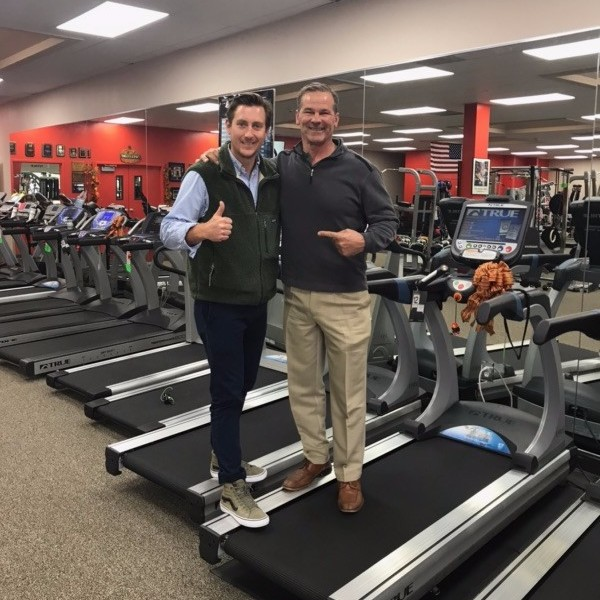 David Trulaske and Donnie Salum at Fitness Gallery