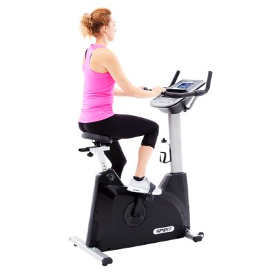 Spirit XBU 55 Upright Bike at Fitness Gallery
