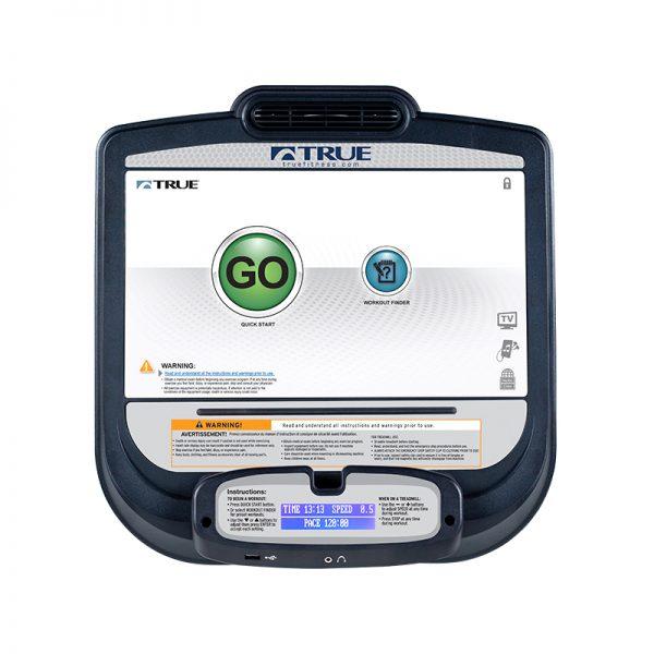 TRUE Fitness Transcend 16 Touchscreen Treadmill Console