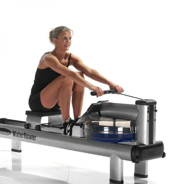 WaterRower M1 HiRise at Fitness Gallery
