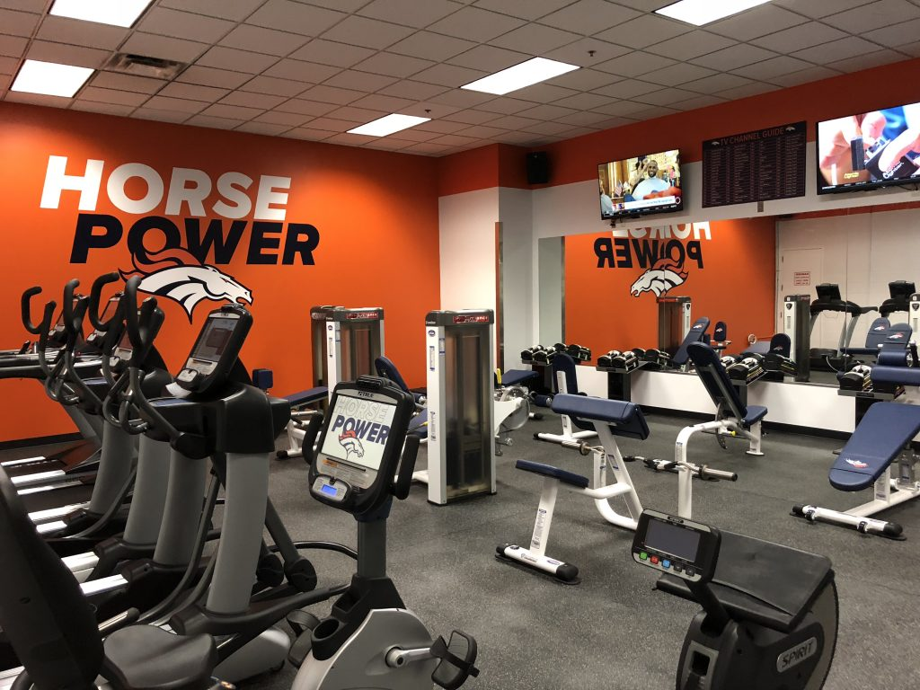 Denver Broncos New Fitness Equipment by Fitness Gallery