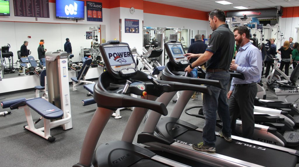 Denver Broncos New Treadmills by Fitness Gallery