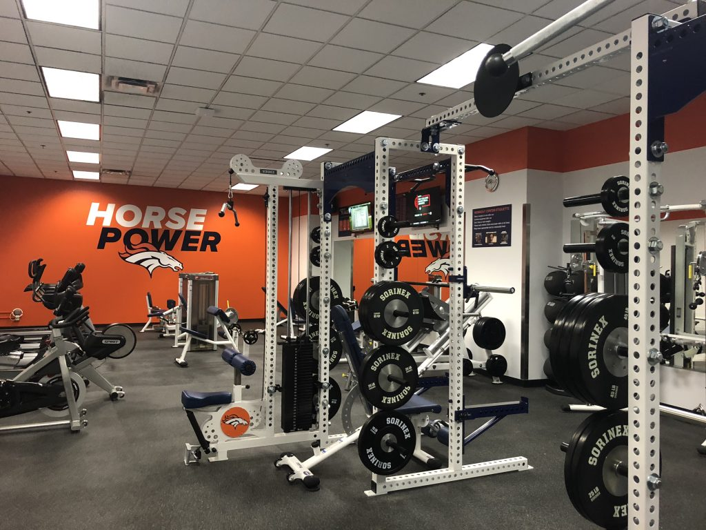 Stadium Room - Denver Broncos by Fitness Gallery