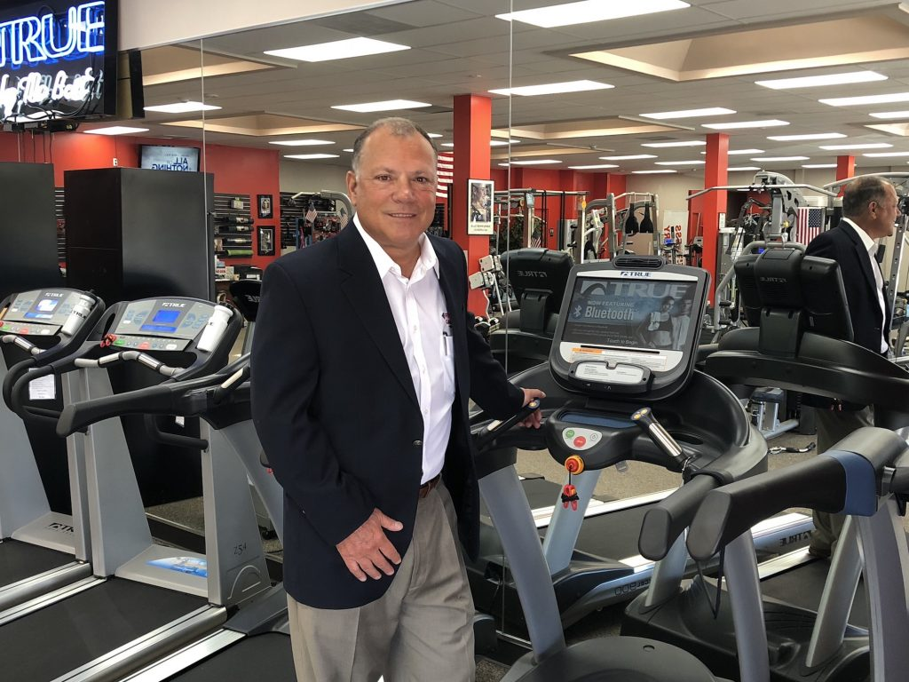 John Conti Commercial Sales at Fitness Gallery
