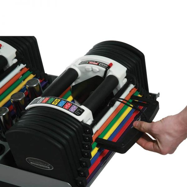 PowerBlock Dumbbells U70 Stage 3 at Fitness Gallery