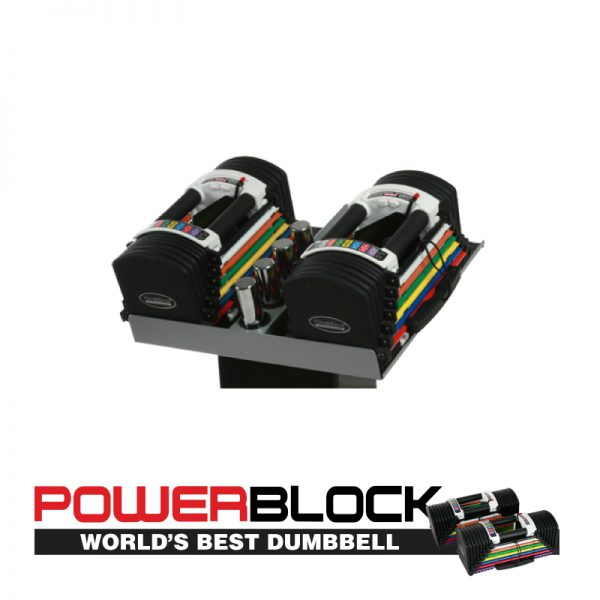 PowerBlock U70 Stage 2 Dumbbells at Fitness Gallery