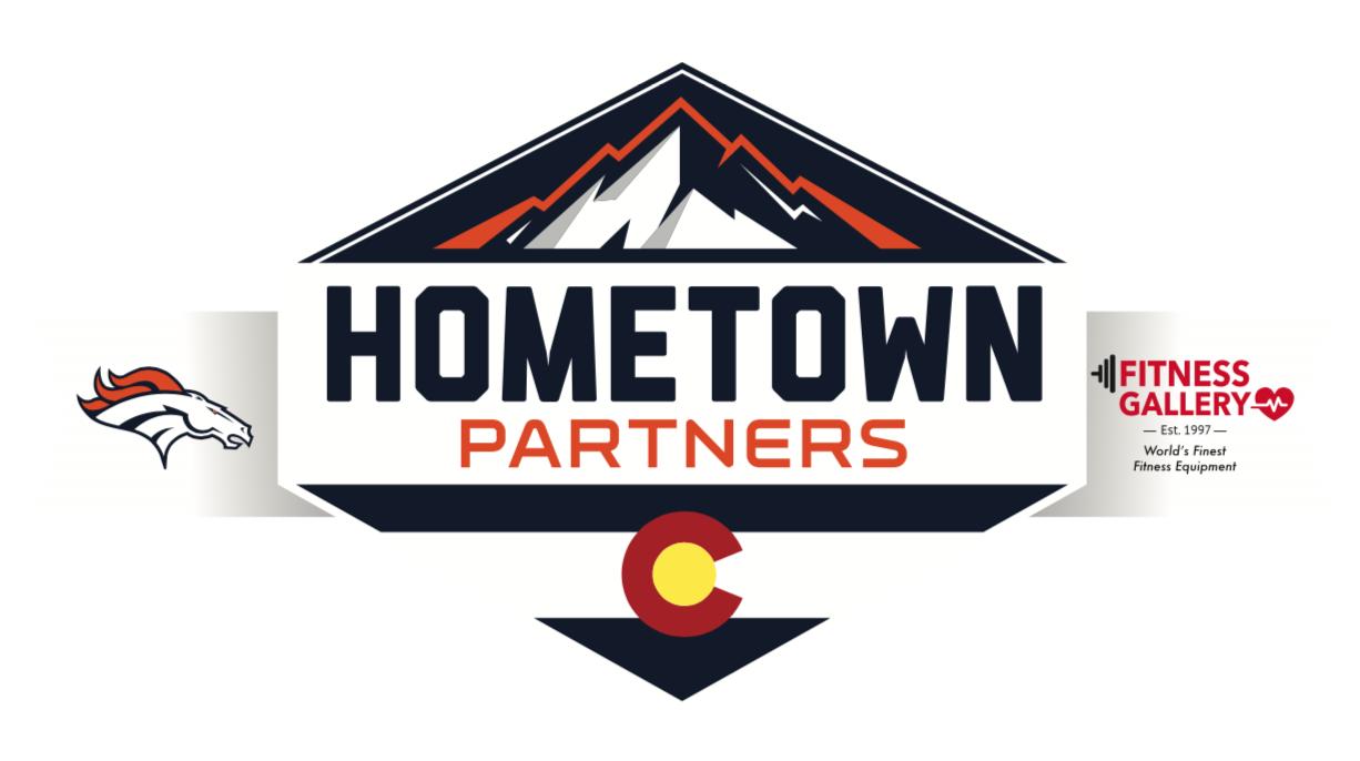 Fitness Gallery Hometown Partner of Denver Broncos