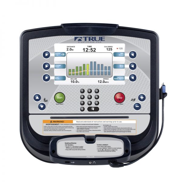 TRUE Fitness Escalate 9 Console at Fitness Gallery