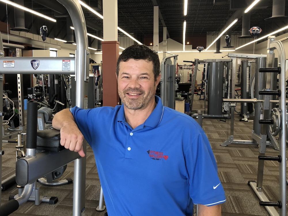 Billy Salum at Fitness Gallery