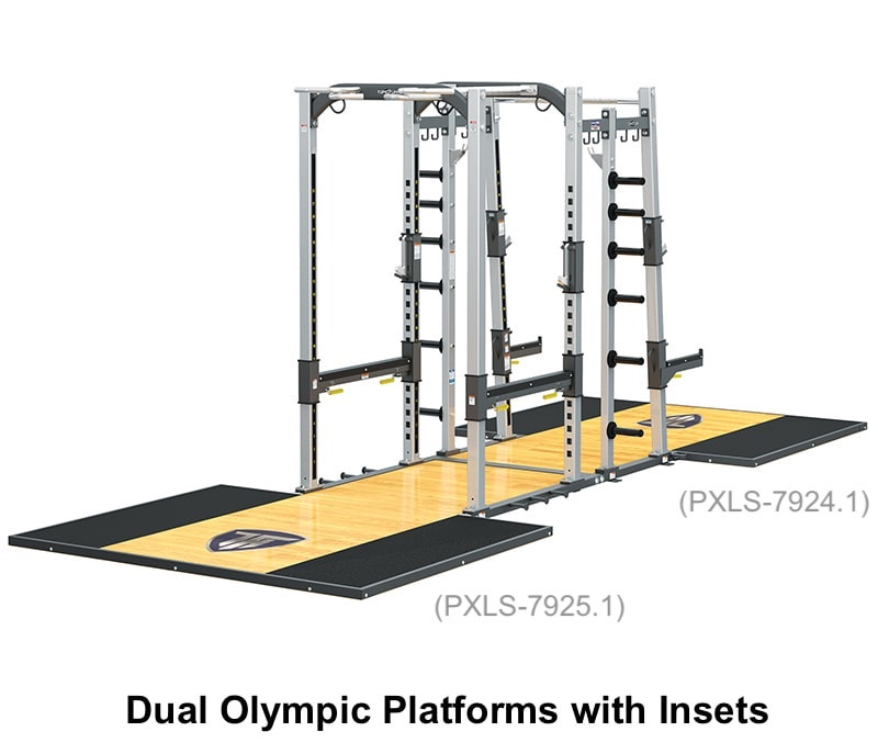 TuffStuff PRO-XL Super Rack (PXLS-7950) Olympic Platforms
