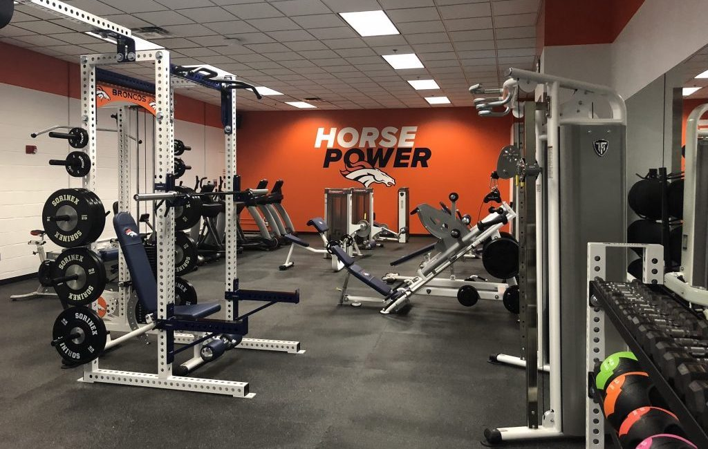 Denver Broncos Stadium Room Gym by Fitness Gallery