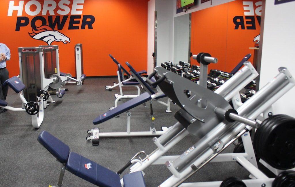 Denver Broncos Strength Equipment by TuffStuff Fitness