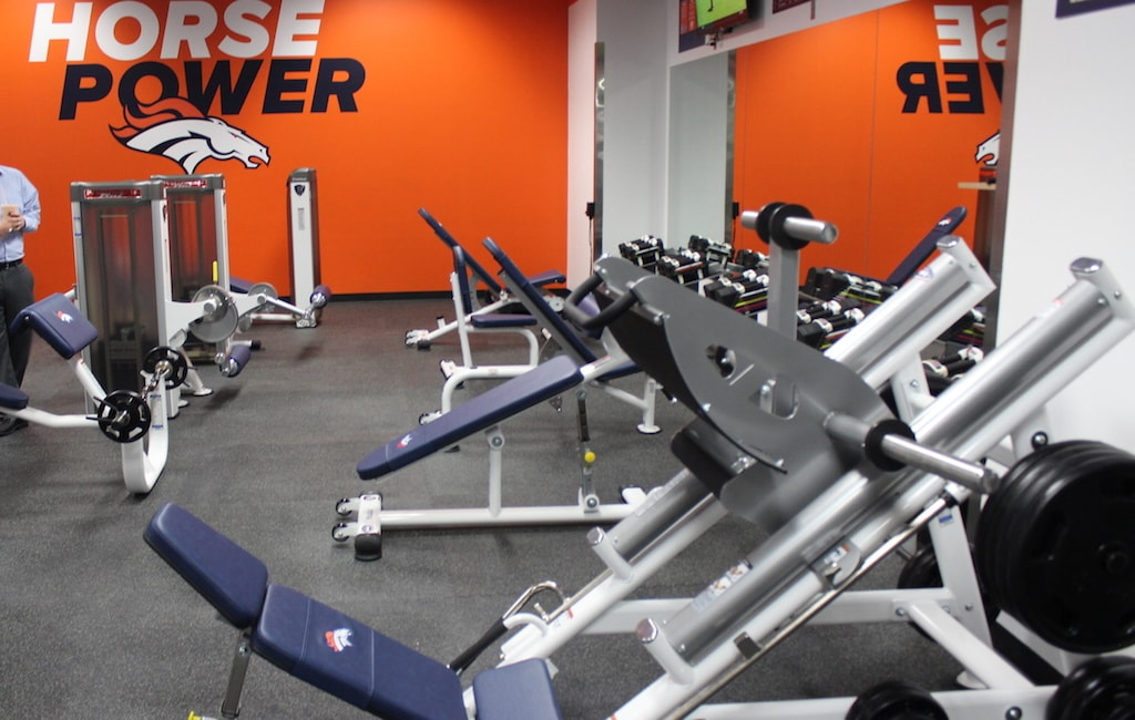 Denver Broncos Strength Equipment by TuffStuff Fitness