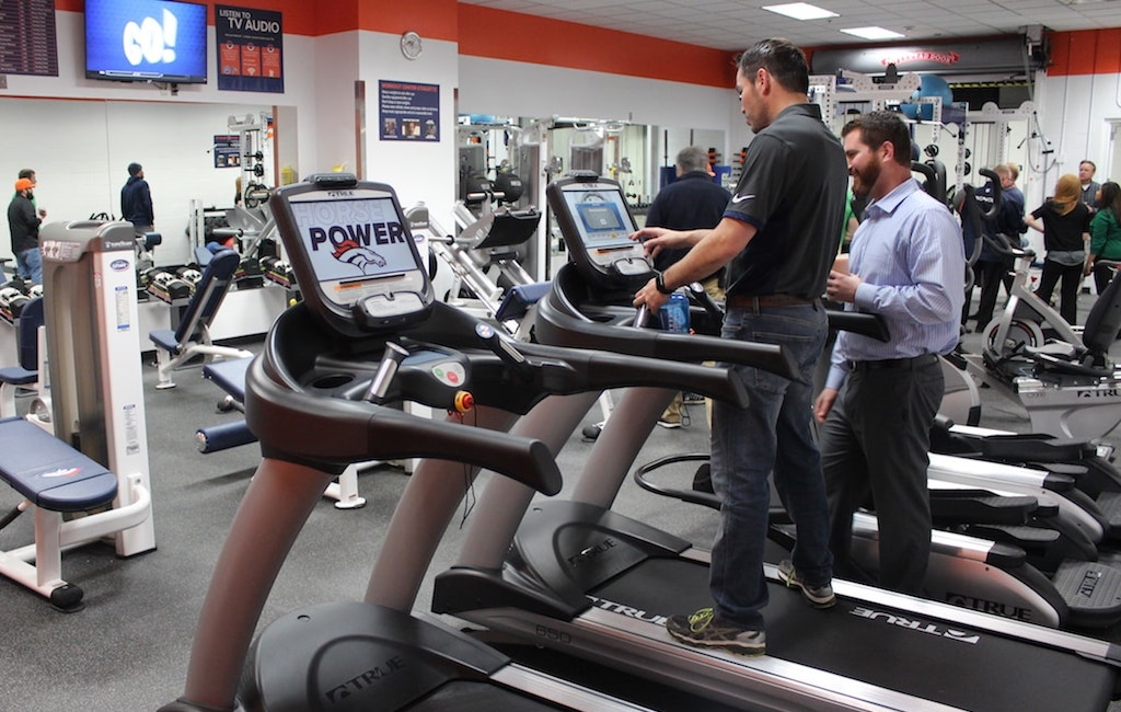 Denver Broncos TRUE Treadmills by Fitness Gallery
