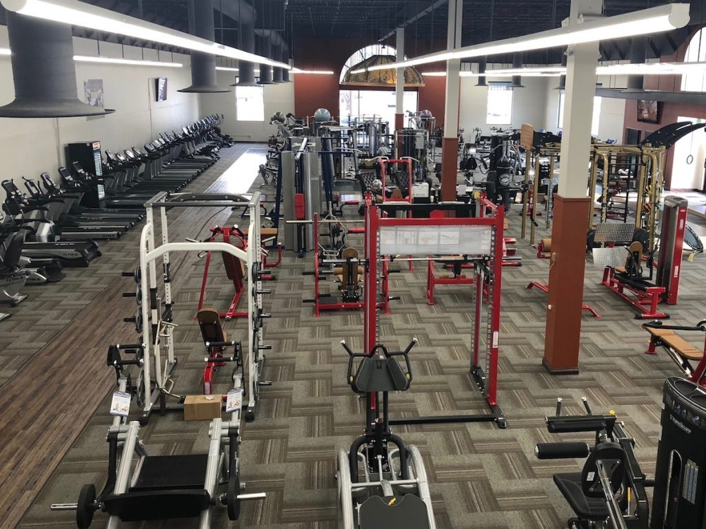 Fitness Gallery Exercise Equipment Showroom in Denver