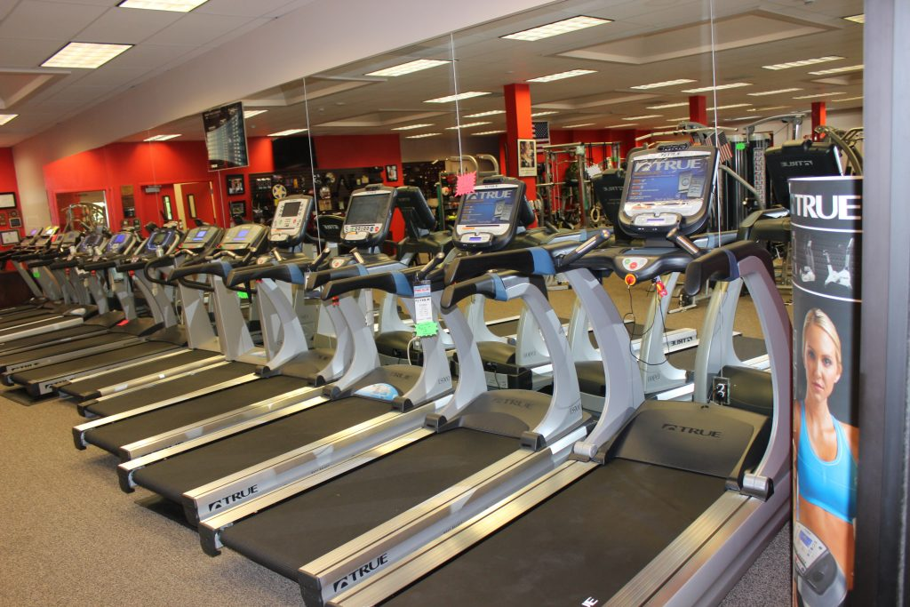 Treadmills at Fitness Gallery's Highlands Ranch Store