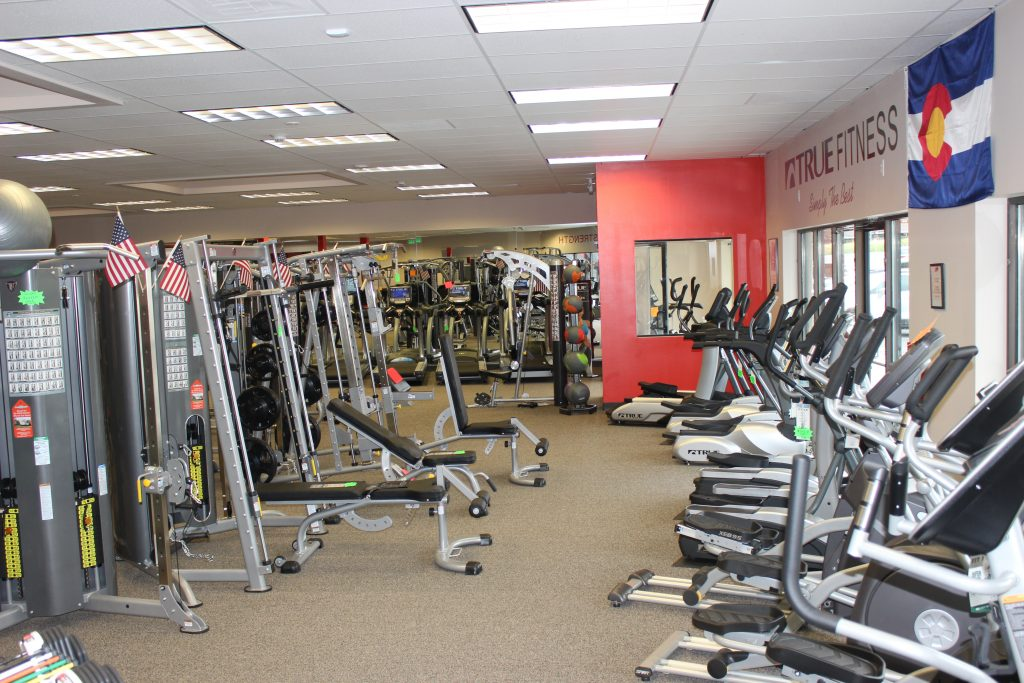 Exercise Equipment at Fitness Gallery's Highlands Ranch Store