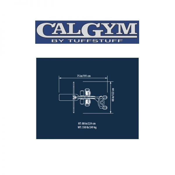 CalGym Lat / Mid Row