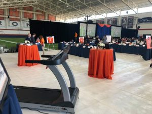 Fitness Gallery Donated TRUE Treadmill for Denver Broncos charities